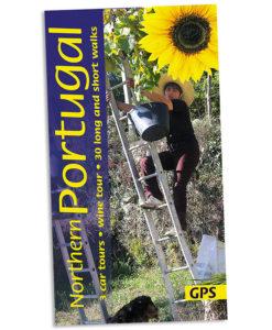 Walking in northern Portugal guidebook cover