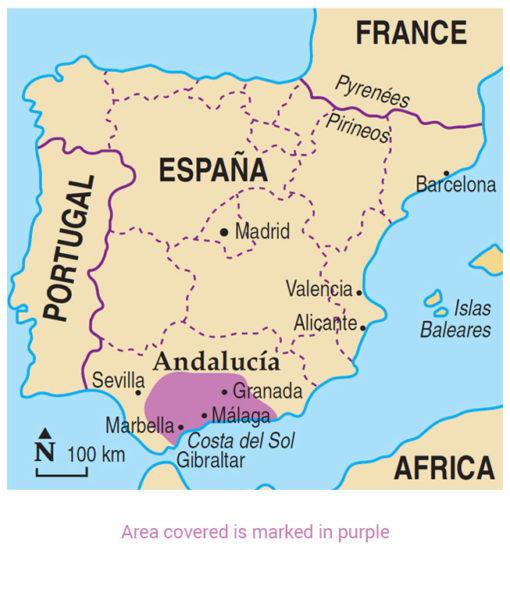 Andalucia Area Map