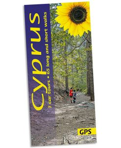 Landscapes of Cyprus guidebook cover - walks and car tours