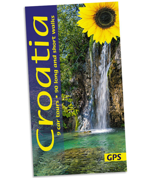 Croatia guidebook cover