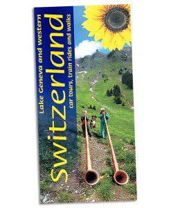 Walking in western Switzerland and Lake Geneva guidebook cover