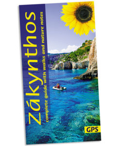 Zakynthos walking guidebook cover