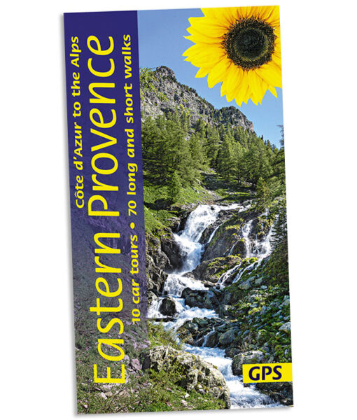 Walking in Eastern Provence guidebook cover