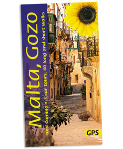 Walking in Malta guidebook cover