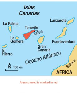 Tenerife area map